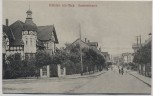 AK Rhüden am Harz Bahnhofstrasse bei Seesen 1910