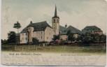 AK Gruß aus Eberhards-Clausen Klausen (Eifel) Kirche mit altem Klostergebäude 1905