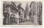 AK Mainz Schustergasse mit Dom und Tuchlager 1910