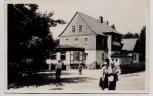 AK Foto Autobahnraststätte Rodaborn bei Triptis mit Menschen 1960