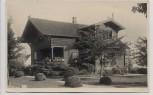 AK Foto Travemünde Lübeck Holzhaus 1931 RAR