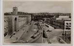 AK Foto Stuttgart Hindenburgplatz mit Straßenbahn 1935