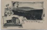 AK Gruß vom Dolmar bei Meiningen Feldpost 1918