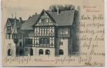 AK Gruss aus Meiningen Henneberger Haus 1901