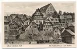 AK Solbad Schwäbisch Hall Alte Fachwerkhäuser und Neubau 1940