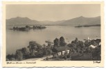 AK Gstadt am Chiemsee m. Fraueninsel b. Breitbrunn 1940