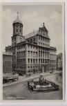 AK Foto Augsburg Rathaus mit Brunnen 1930