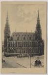 AK Aachen Rathaus 1920