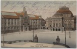 AK Chemnitz Neues Theater und Museum Feldpost 1915