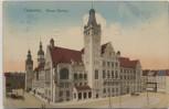 AK Chemnitz Neues Rathaus 1912