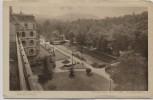 AK Baden-Baden Brenner's Stephanie-Hotel Ausblick auf den Hotelpark 1920