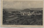 AK Staudernheim an der Nahe Ortsansicht mit Disibodenberg 1918