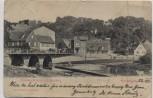 AK Erlangen Schwabachbrücke und Burgberg 1902