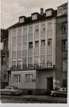 AK Foto Koblenz Roonstraße mit Hotel National Autos 1960
