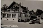 AK Foto Bernau am Chiemsee Fremdenheim Brunner Egartnerstraße 5 1967