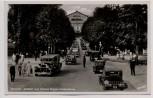 AK Foto Bayreuth Auffahrt zum Richard Wagner-Festspielhaus viele Autos 1935