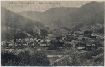 AK Gruß aus Calmbach an der Enz Blick vom Hengstberg Bad Wildbad 1915