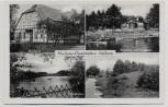 AK Mehrbild Heidesee Gaststätten Gifhorn 1935