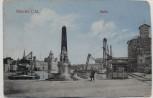 AK Münster in Westfalen Hafen mit Denkmal 1914