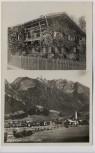 AK Foto Oberstdorf im Allgäu Hausansicht 1930