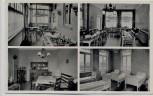 AK Mehrbild Nordseebad Norderney Privat-Kindererholungsheim FRISIA Innenansichten 1955 RAR