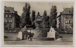 AK Foto Zweibrücken Mannlichplatz mit 2 Kindern 1940