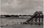 AK Foto Duisburg Wedau Strandbad mit Rutsche 1960