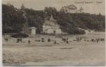 AK Ostseebad Rauschen Swetlogorsk Strand mit Häusern Samland Ostpreußen Russland 1910