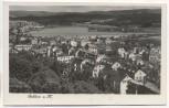 AK Gablonz a. N. Jablonec nad Nisou Teilansicht mit Talsperre Tschechien 1940