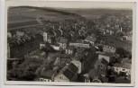 AK Foto Triebes Ortsansicht mit Bahngleis Thüringen 1934