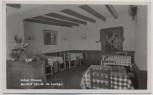 AK Berdorf Hotel Kinnen Innenansicht bei Echternach Luxemburg 1940 RAR
