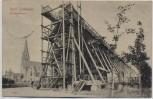 AK Bad Nauheim Gradierwerk mit Kirche 1911