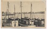 AK Vitte a. Hiddensee Ostsee Blick vom Hafen auf das Norderende 1930