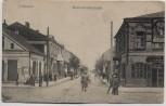 AK Schaulen Šiauliai Kathedralenstraße mit Menschen Feldpost Ostpreußen Litauen 1915 RAR