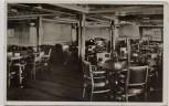 AK Foto Norddeutscher Lloyd Turbinen-Schnelldampfer Bremen Rauchzimmer Touristenklasse 1930