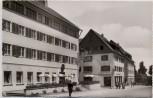 AK Foto Freudenstadt im Schwarzwald Hotel Post und Löwen-Apotheke 1960