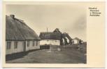 AK Ostseebad Neuendorf auf Hiddensee Strohdächer 1940