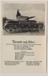AK Liedkarte Vorwärts nach Osten ! Panzer 2.WK 1942