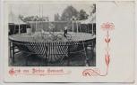 VERKAUFT !!!   AK Gruss aus Zirkus Semsrott aus Ungarn Radfahrer 1907 RAR