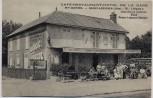 AK Boissy-Lévignen Oise CAFE-RESTAURANT-HOTEL DE LA GARE Mon KETTEL Frankreich 1920 RAR