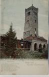 AK Rinteln Gruss vom Rinteler Klippenturm mit Weserlied 1900