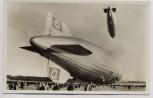 AK Foto Die beiden Luftschiffe Graf Zeppelin und Hindenburg 1937 RAR