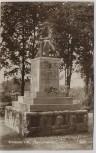 VERKAUFT !!!   AK Foto Schwerin Jäger-Denkmal 1925 RAR