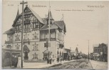 AK Westerland auf Sylt Strandstrasse mit Menschen 1910