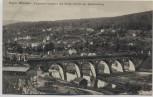 AK Hann. Münden Eisenbahn-Viadukt mit Villen-Viertel am Questenberg 1910