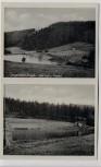 AK Langenbach im Erzgebirge Freibad bei Langenweißbach Feldpost 1939 RAR