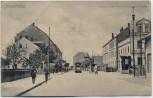 VERKAUFT !!!   AK Leipzig Probstheida Straßenansicht mit Straßenbahn und Restauration 1910 RAR