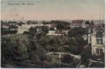 AK Leipzig Engelsdorf Ortsansicht mit Villa 1910 RAR