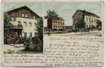 AK Berlin Gruss aus Marienfelde Postamt Schule 1910 RAR