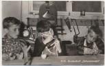 AK SOS-Kinderdorf Schwarzwald Sulzburg Baden Kinder bastelnd 1960